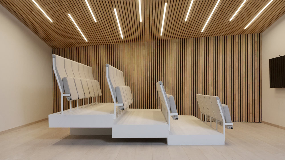 Auditorium I Fora Form sitt showrom i Oslo