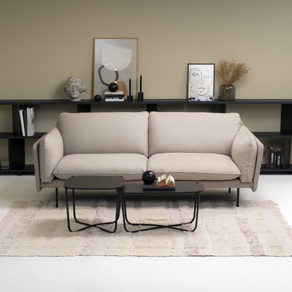 Otis sofa Note hyller og Root bord fra Fora Form