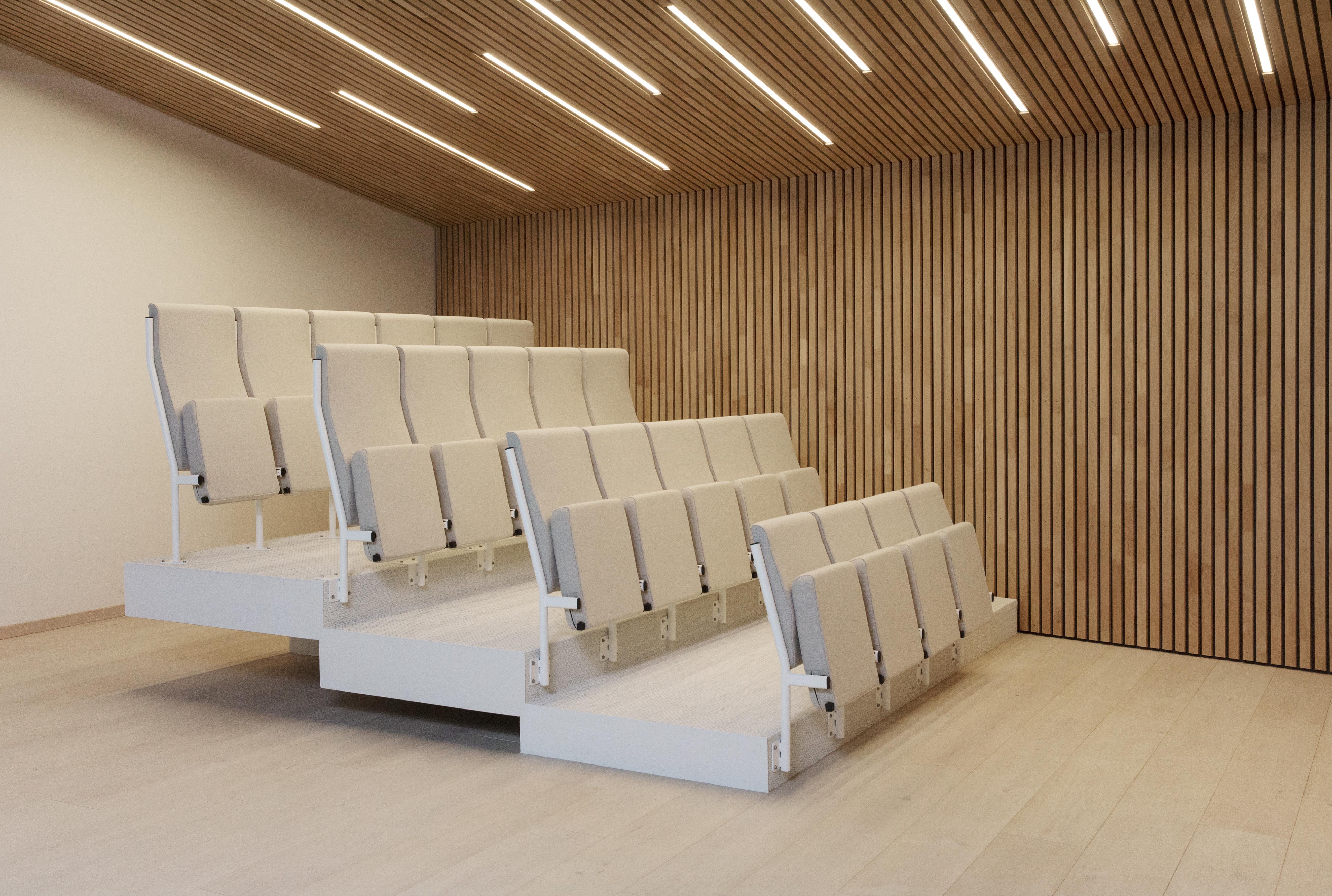 Audio auditorium i ulike rygg høyder Fora Form