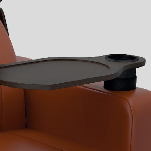 Smart swivel table