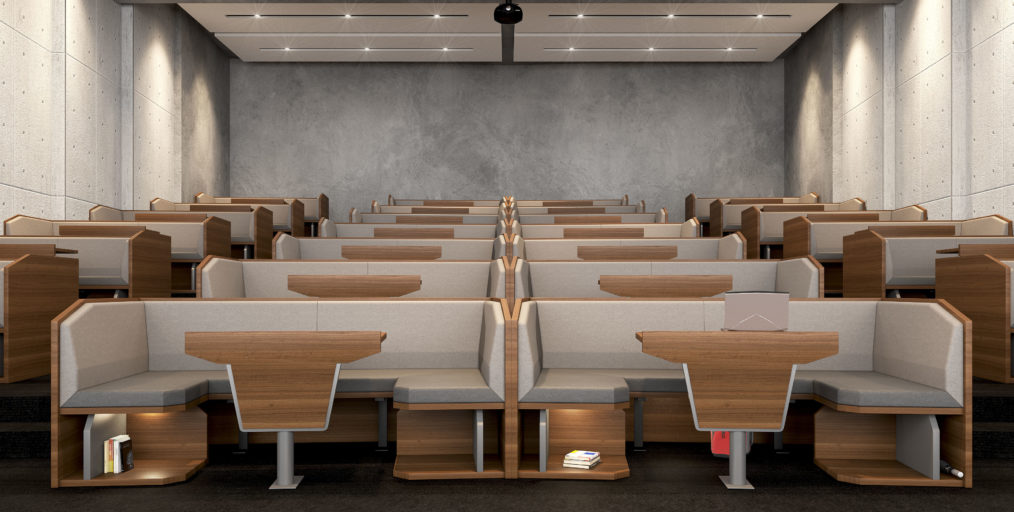 Study Pods lecture theatre V2