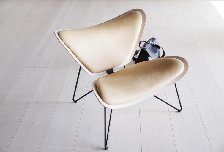Copenhagen chair med hvitvasket eik Fora Form