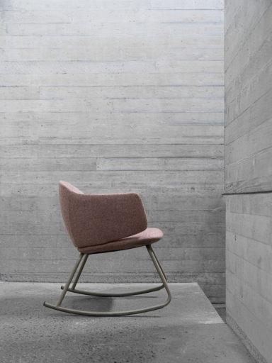 Dwell rocker a playfull chair from Fora Form