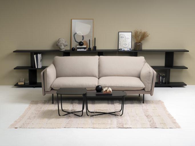 Otis sofa Note hyller og Root bord fra Fora Form