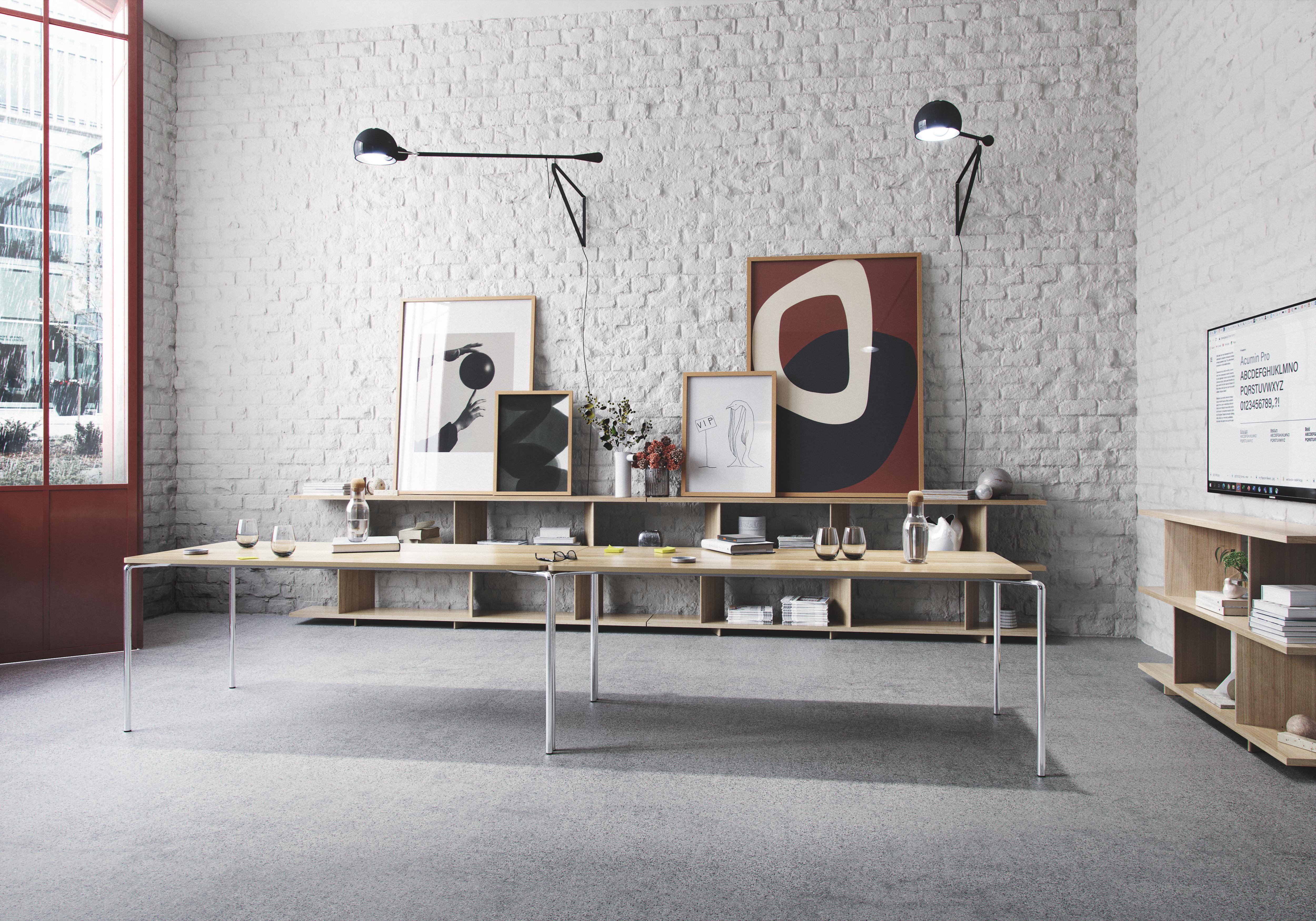 Clip bord sammen med Note hyller fra Fora Form