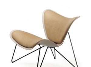 Copenhagen chair eik med sort understell Fora Form
