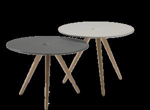 Cup bord med eike ben fra Fora Form