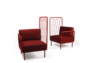 2 stoler fra Kove serien modulsofa Fora Form