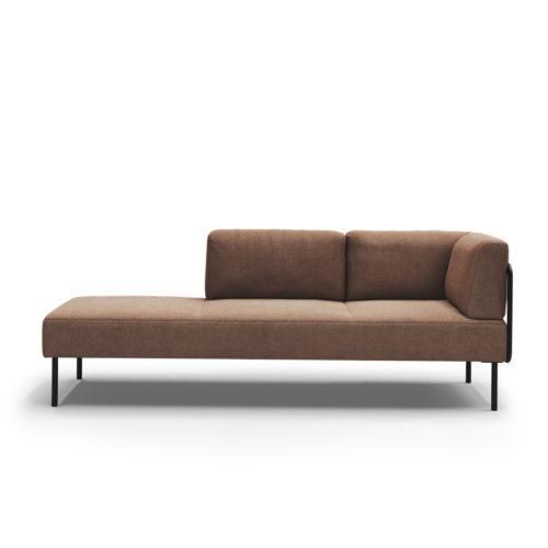 Kove 3 seter sofa med lav rygg modulsofa amdal Fora Form