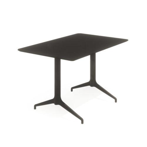 Kvart 120x80 H 74 cm bord helsort Fora Form