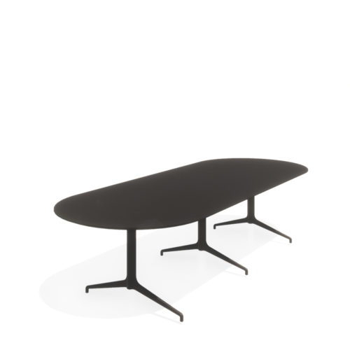 Kvart konferansebord 320x120 Ovalt Fora Form