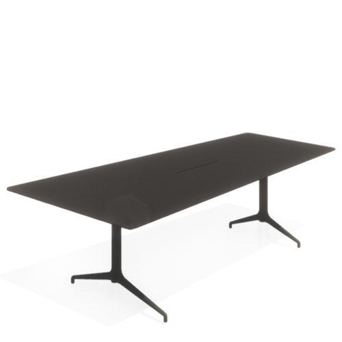 Kvart videobord 260x12090 med kabelluke fra Fora Form
