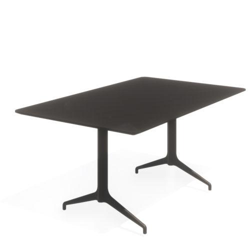 Kvart 160x100 H74 møtebord Fora Form