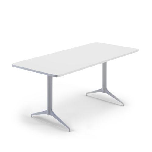 Kvart 180x80 møtebord Fora Form