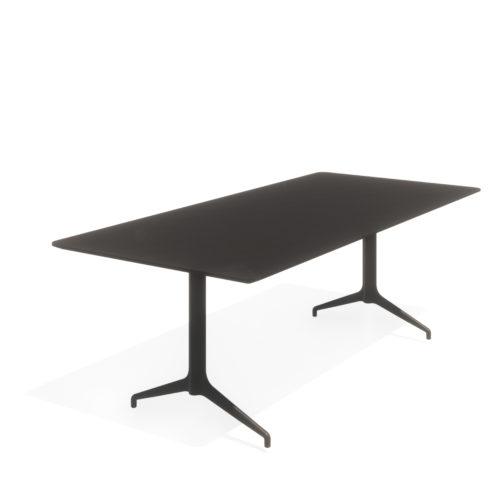 Kvart 220x100 H74 møtebord Fora Form