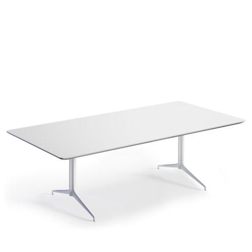 Kvart 240x120 konferansebord Fora Form