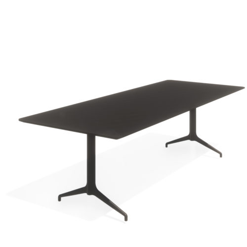 Kvart 260x100 H74 møtebord Fora Form