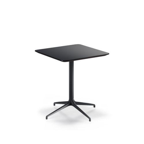 Kvart 80x80 H 90 cm bord helsort Fora Form