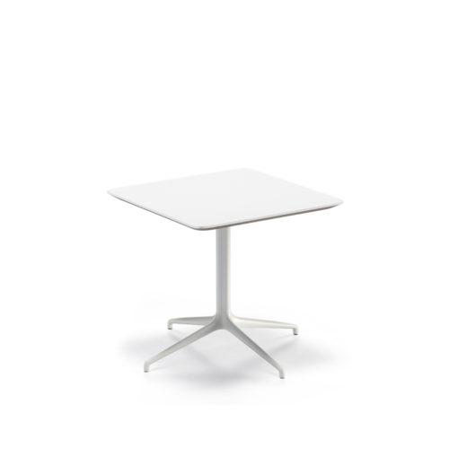 Kvart 80x80 bord helhvit Fora Form
