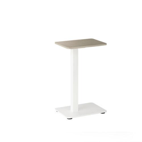 R bord 32x25x55 cm i hvitvasket eik Fora Form