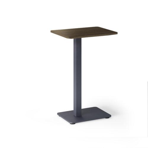 R bord 43x32 H65 cm mørkbeiset eik Fora Form