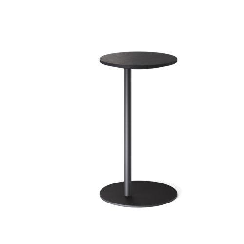 S bord Ø34 H60 cm sortbeiset eik Fora Form