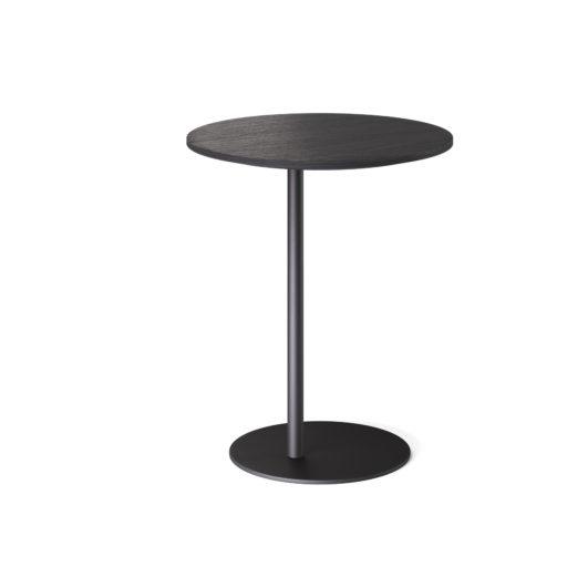 S bord Ø50 H60cm sortbeiset eik Fora Form