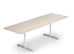 Myk bord 240x80 cm hvitvasket eik Fora Form copy