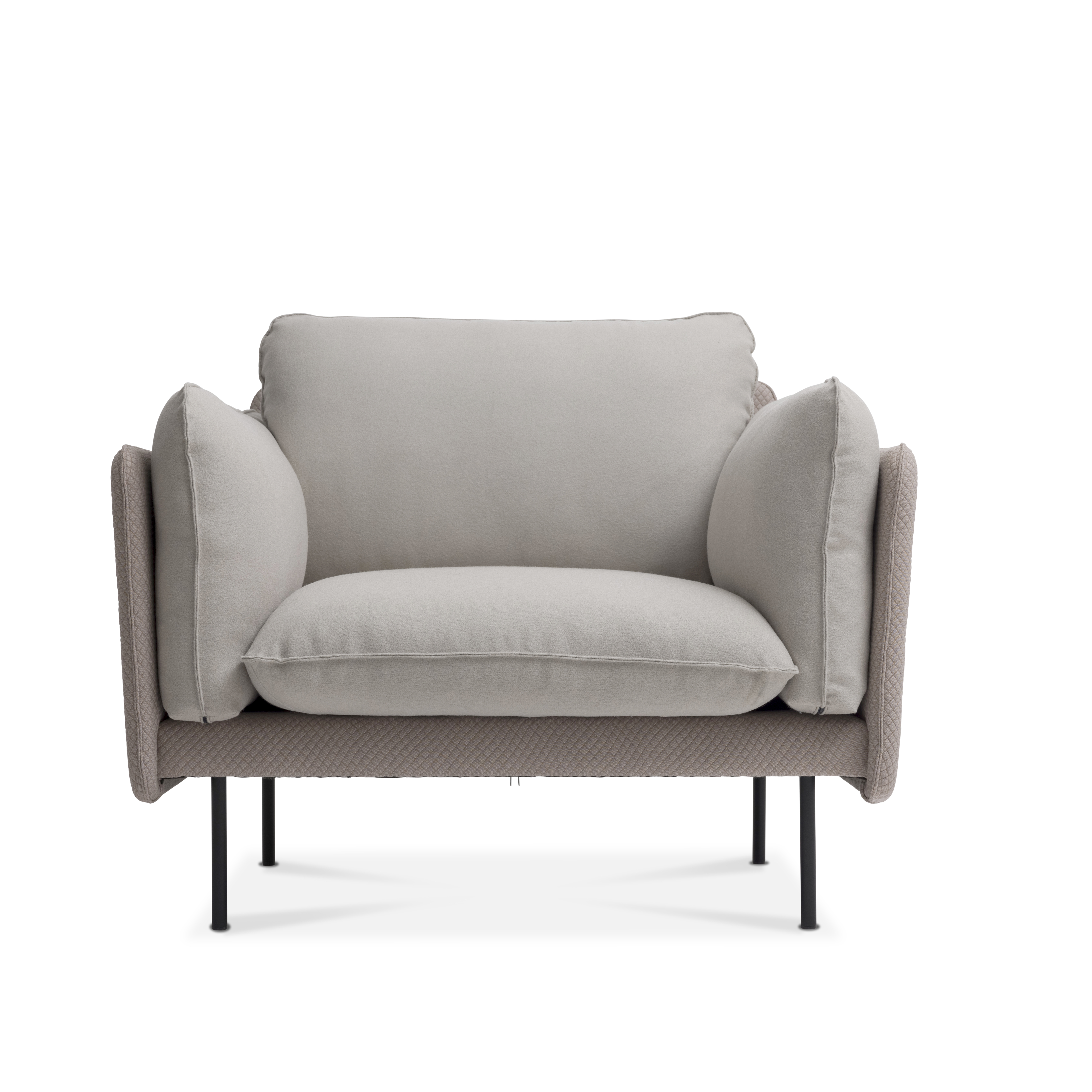 Otis stol i to tekstiler soft seating fra Fora Form