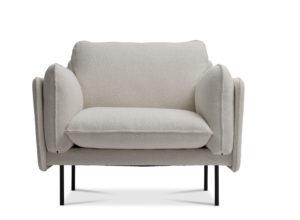 Otis stol med myke puter soft seating fra Fora Form