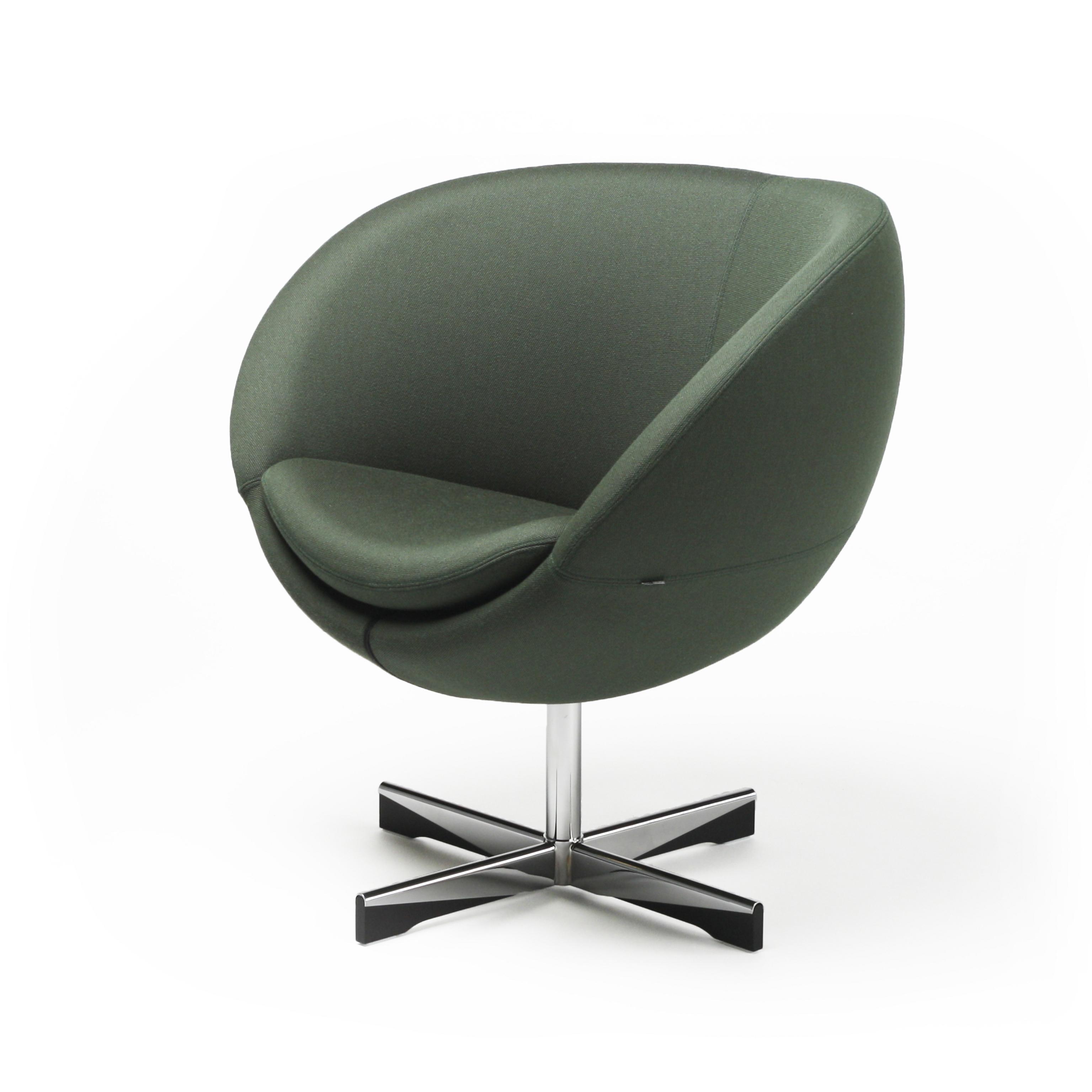 Planet stol i grønn tekstil Fora Form