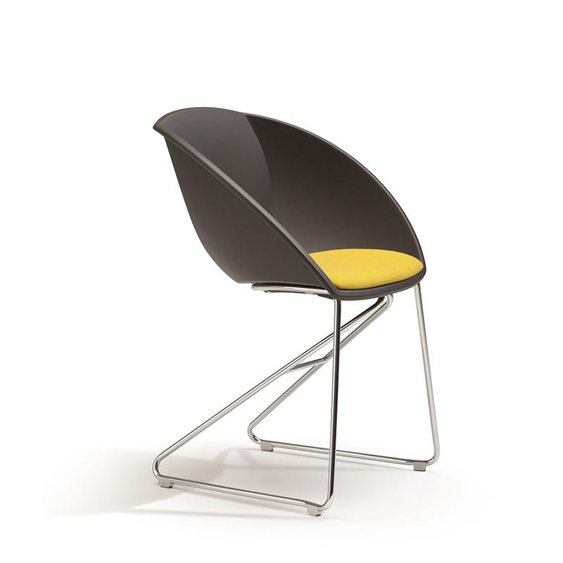 Popcorn stol med pute Fora Form