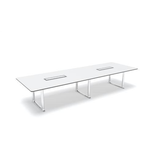Roma Konferansebord 360x120 cm C box Fora Form