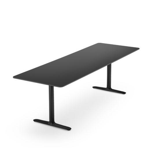 Roma bord med bordplate og understell Fora Form