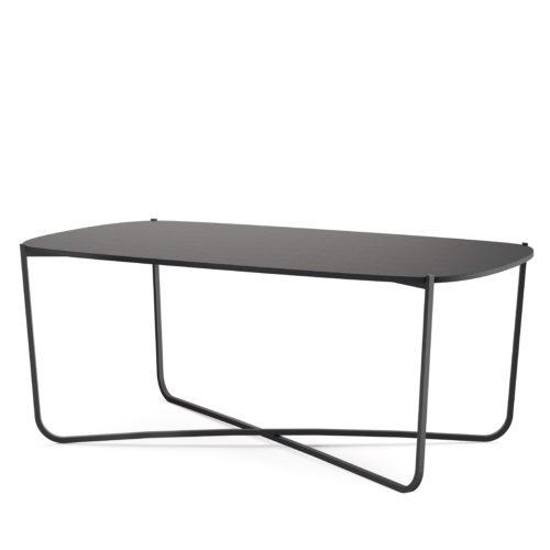 Root bord 114x63 cm småbord lys grå Fora Form kopi