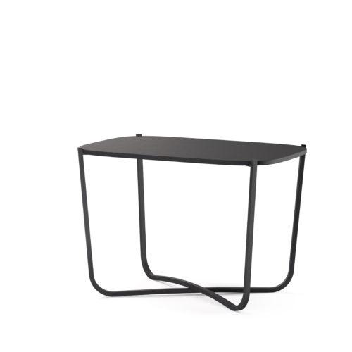 Root bord 38x58 cm småbord sort Fora Form
