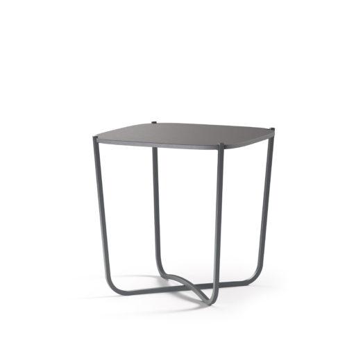 Root bord 44x44 cm småbord lys grå Fora Form