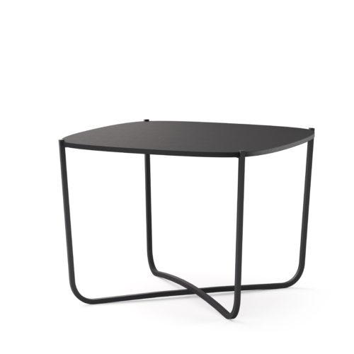 Root bord 60x60 cm småbord sort Fora Form