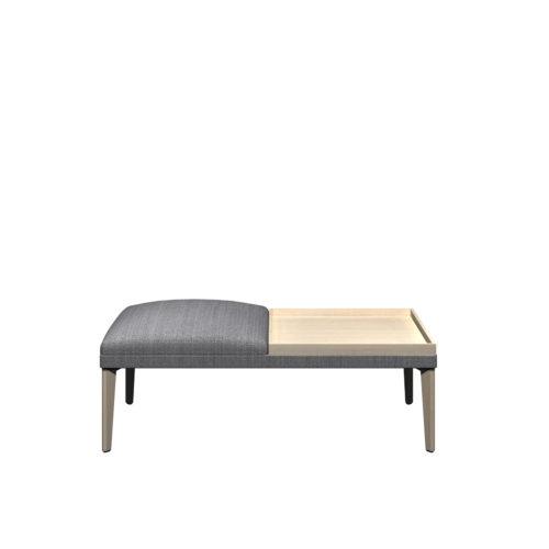 Senso 2 seter modul med eikebord og eike ben Form