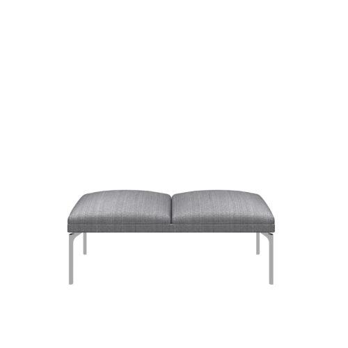 Senso 2 seter modul med stålben Fora Form