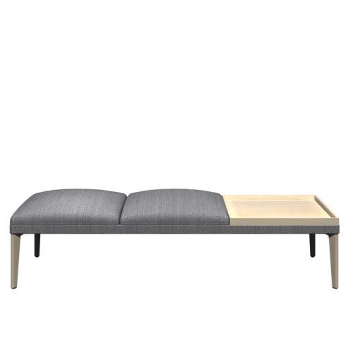 Senso 3 seter modul med eikebord og eike ben Form