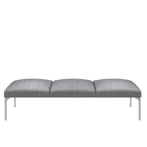 Senso 3 seter modul med stålben Fora Form