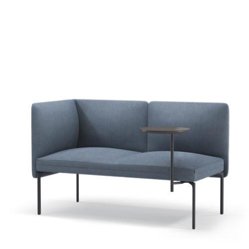 Senso sofasystem 2seter med fastmontert S bord Fora Form