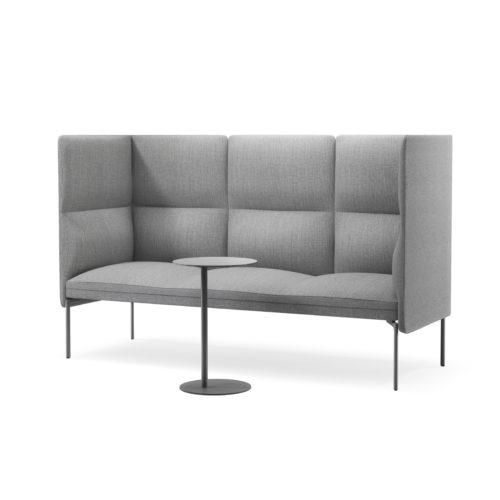 Senso treseter sofa med løst sidebord Fora Form