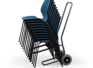 Stoltralle med 10 City stoler regulerbar Fora Form