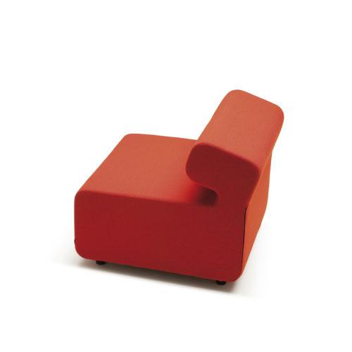 Up sofa 1 seter med rygg Fora Form