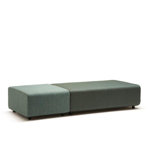 Up sofa 12 seter uten rygg Fora Form