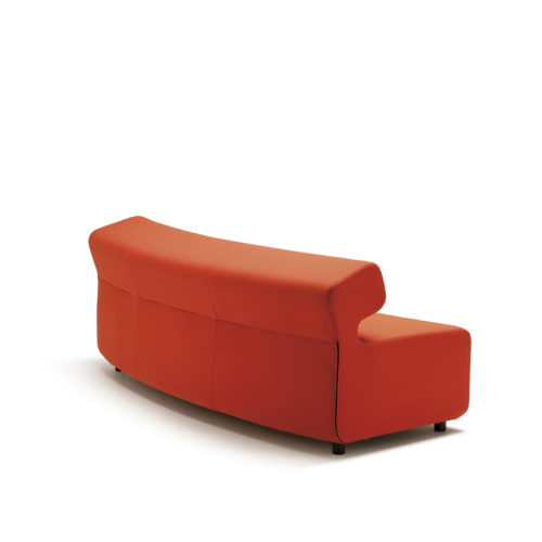 Up sofa 3 seter buet II Fora Form