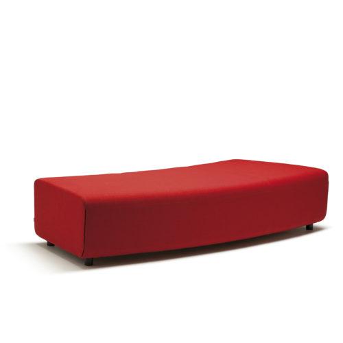 Up sofa 3 seter buet uten rygg Fora Form