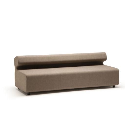 Up sofa 3 seter med rygg Fora Form